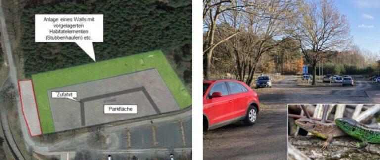 Parkplatzerweiterung Bahnhof